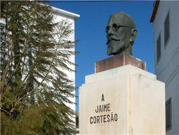 Busto a Jaime Cortesão (The bust of Jaime Cortesão )